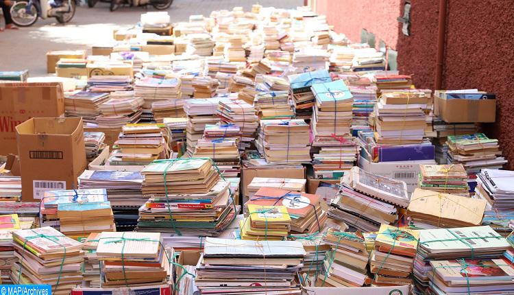 صورة تعبئة جمعوية متواصلة لفائدة كتبيي ساحة باب دكالة
