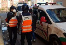 صورة توقيف شخصين يشتبه تورطهما في حيازة و ترويج الأقراص المخدرة بمراكش