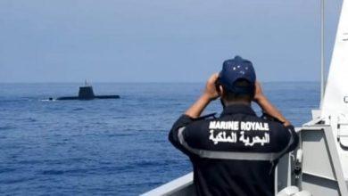صورة البحرية الملكية تحبط محاولة تهريب ثلاثة أطنان من المخدرات بعرض سواحل رأس كبدانة بالناظور