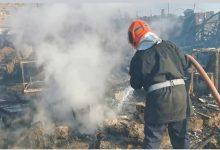 صورة خنيفرة .. حريق بأكواخ السوق الأسبوعي أحطاب