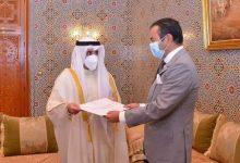 صورة صاحب السمو الملكي الأمير مولاي رشيد يستقبل وزير الخارجية الكويتي حاملا رسالة من أمير دولة الكويت إلى جلالة الملك