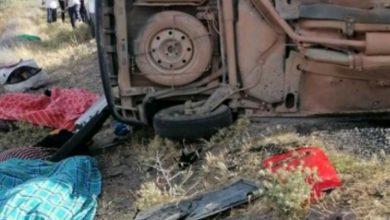 صورة مصرع 6 أشخاص في حادث سير بقلعة السراغنة