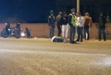صورة حادثة سير خطيرة بالطريق الرابط بين مراكش و تامنصورت تسفر عن إصابة شخصين