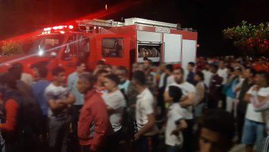 صورة عاجل .. حريق مهول يأتي على منزل بحي ديور المساكين بمراكش