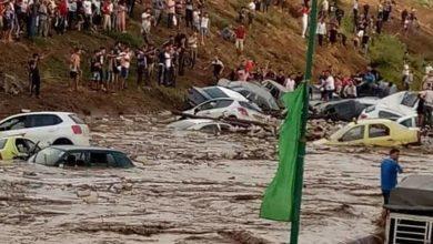 صورة مصرع سبعة أشخاص في فيضانات بالجزائر