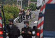 صورة جرحى خلال تفريق الشرطة حفلا صاخبا في غرب فرنسا