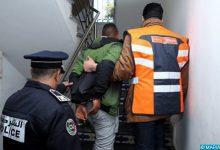 """صورة تدخل عناصر الدائرة الأمنية 23 ينهي عربدة مقرقب بحي """"سوكوما"""" بمراكش."""