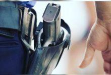 صورة فاس .. إطلاق رصاصة تحذيرية تمكن من ضبط مسلح عرض أمن المواطنين و سلامة عناصر الشرطة لاعتداء جدي.