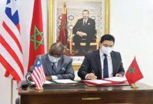 """صورة بوريطة .. المغرب يثمن الموقف """"الواضح والثابت"""" لليبيريا حول قضية الصحراء"""
