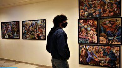 صورة اجتماع بمراكش لتتبع سير مشروع تهيئة متحف التراث اللامادي