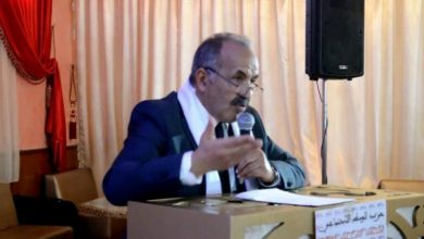 صورة لحسن مديح :الحزب الدي يتزعم الحكومة فشل في الحفاظ على المصلحة الوطنية