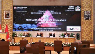 صورة إعطاء انطلاقة الاحتفاء بمئوية الحضور الدبلوماسي السويسري في المغرب