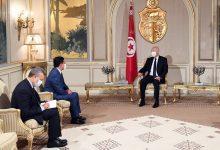 صورة رسالة من الملك محمد السادس إلى رئيس الجمهورية التونسية
