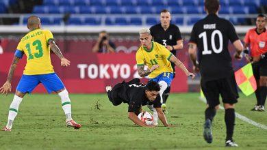صورة المنتخب البرازيلي يستهل رحلة الدفاع عن لقبه بطلا أولمبيا بفوز كاسح أمام ألمانيا
