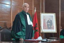 صورة تنصيب الأستاذ عبد الله الجعفري رئيسا أولا لمحكمة الاستئناف بمراكش