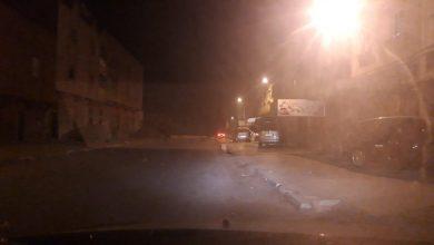 صورة تطبيق اجراءات حظر التجول الليلي بمدينة بنسليمان