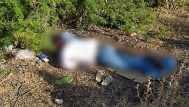 صورة العثور على جثة شاب بسيدي سليمان.