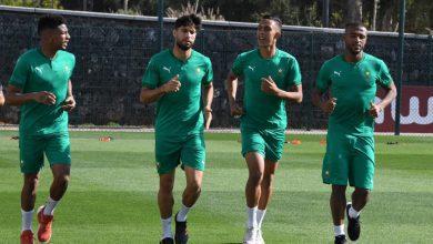 صورة عموتة يستدعي 28 لاعبا استعدادا لكأس العرب