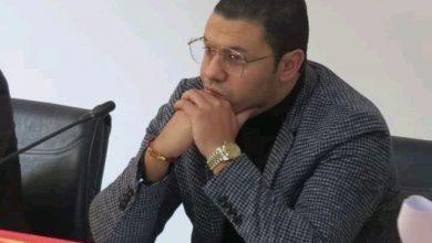 صورة البرلماني ياسين الراضي عن حزب الاتحاد الدستوري رئيسا للمجلس الجماعي بسيدي سليمان.