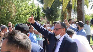 صورة رسميا الدكتور بايا مصطفى رئيس للجماعة الحضرية خنيفرة