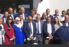صورة فوز الميلودي البوزيري برئاسة جماعة عين تيزغة تاني اغنى جماعة بالمغرب
