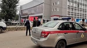 صورة إطلاق النار بحرم جامعة روسية يخلف قلتى و جرحى.