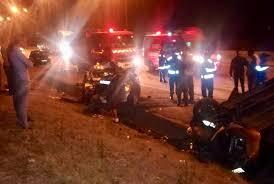 صورة عاجل .. حادثة سير مميتة بإقليم سيدي سليمان تودي بحياة أربعة ركاب و نجاة طفلة.