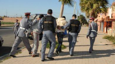 صورة عاجل/ درك تامنصورت ينجح في اعتقال شخصين ذوي سوابق عدلية  متلبسين بسرقة منزل