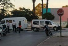 صورة الشرطة المرورية تتصدى للمخالفين للقانون بالشارع العام ببنسليمان