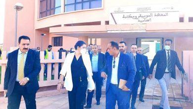 صورة السيدة فاطمة الزهراء رئيسة المجلس الجماعي مراكش تتفقد مشاريع الحاضرة المتجددة العالقة في إطار التنمية المستدامة وسياسة المدينة + صور