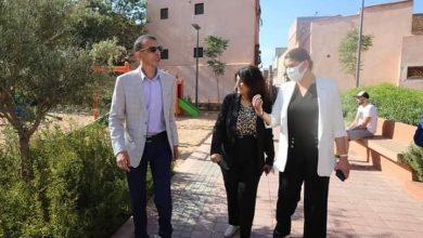 """صورة حديقة سيدي مسعود تحظى بزيارة تفقدية من طرف السيدة العمدة """"فاطمة الزهراء المنصوري""""صباح اليوم الخميس 21 أكتوبر 2021 + صور"""