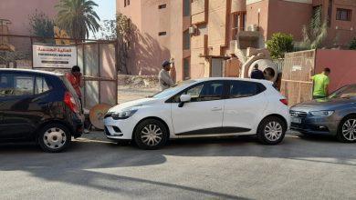 صورة بالصور .. حارس سيارات يعرقل عمل مقاولة بناء معروفة بمراكش